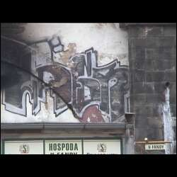 Prague graffiti